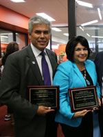 2015 Awardees Don Mares and Angie Rivera-Malpiede