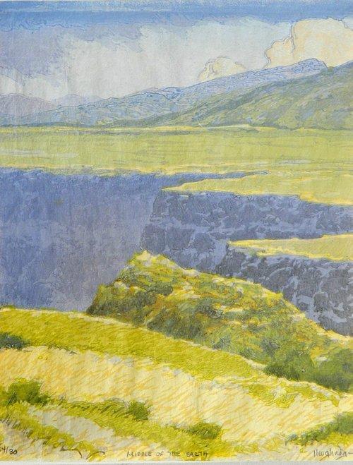 Gorge Songs Woodblock Prints By Leon Loughridge Denver