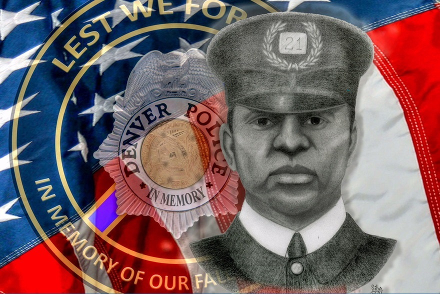Willie O.Steam - Honoring A Fallen Officer Exhibit