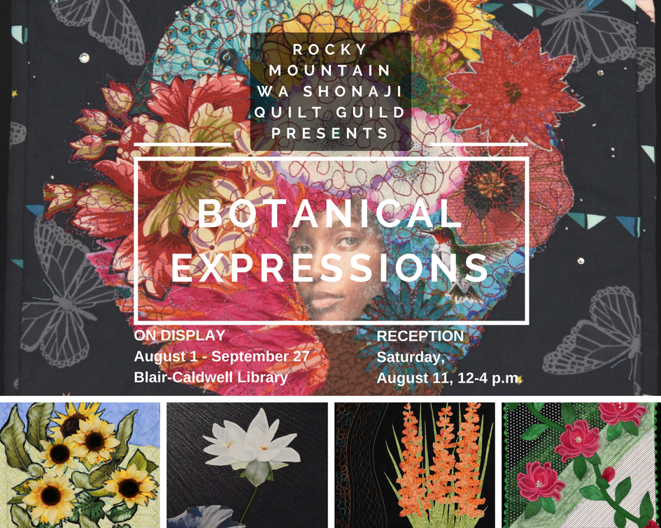 Wa Shonaji Quilt Guild Presents: Botanical Expressions Artist's Reception