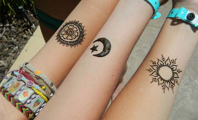 Henna Tattoos At The Central Library Denver Public Library