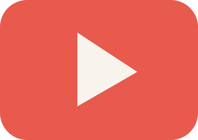 Youtube basics denver public library red rectangle with a white triangular play button reheart Gallery