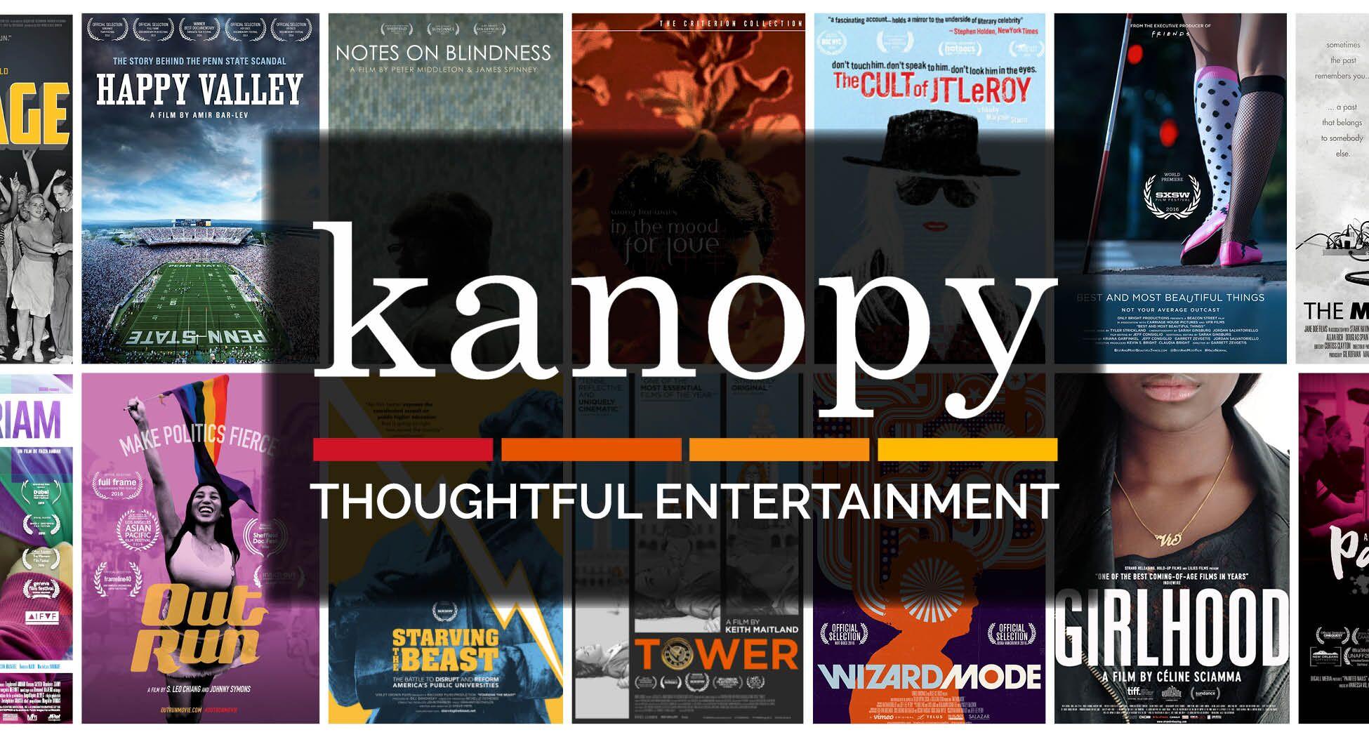 kanopy movies, documentaries and children's videos