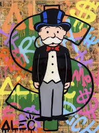 painting by Alec Monopoly