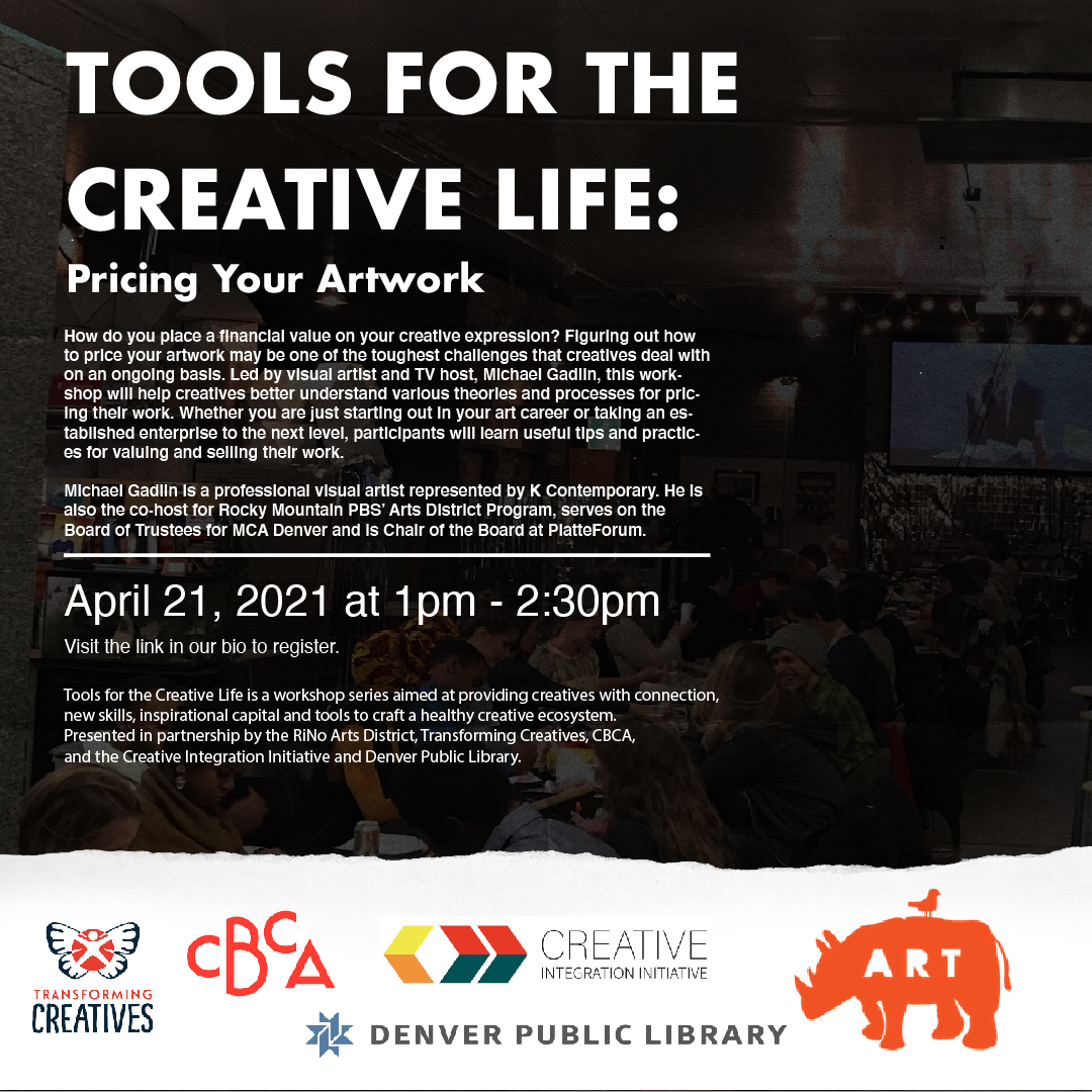 April 2021 Tools for the Creative Life flyer