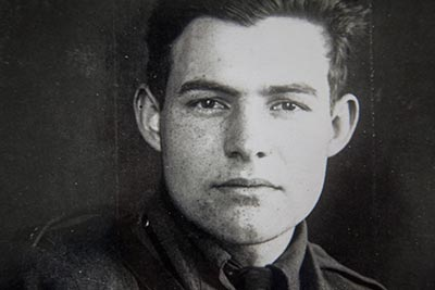 Ernest Hemingway · author. Written by Chris on February 23, 2015
