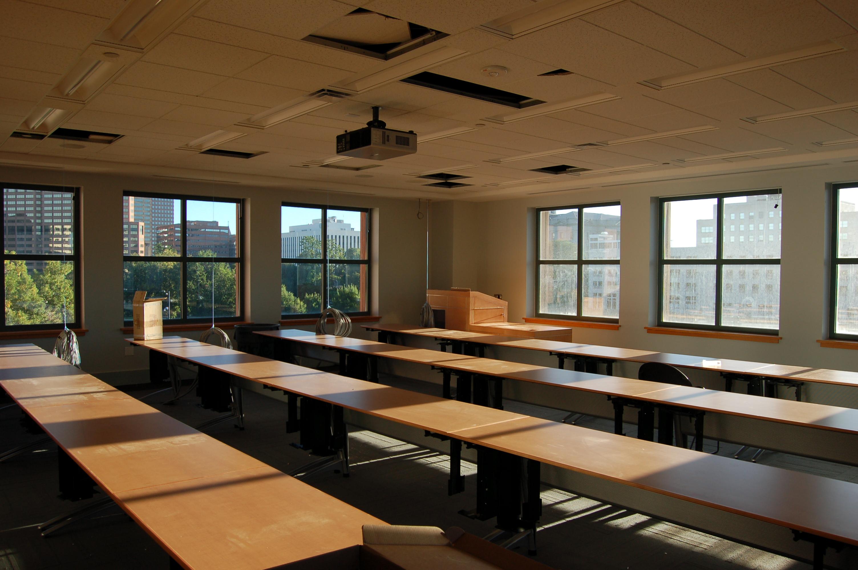 Classroom window - Classroom