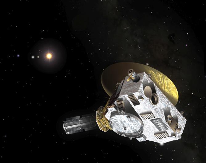 new horizons spacecraft speed - photo #14