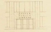 Sketch of DPL Entrance