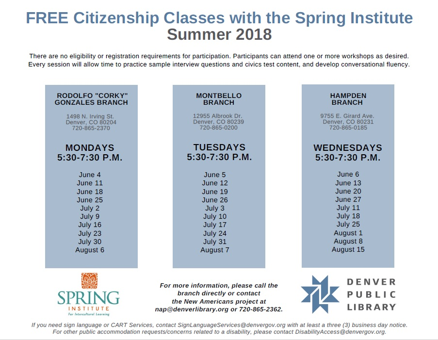 Thumbnail image of Spring Institute Flyer