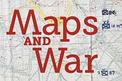 Image of map with text Maps and War