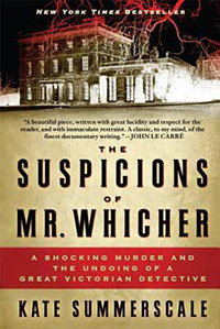 Book cover for The Suspicions of Mr, Whicher by Kate Summerscale