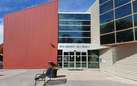Ross-University Hills Branch Library exterior