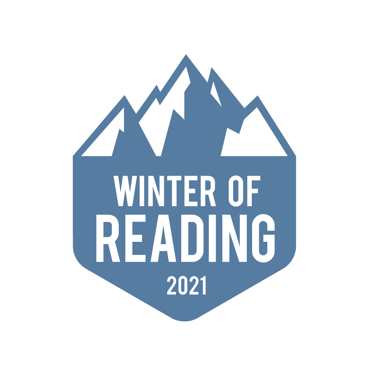 Winter of Reading 2021 logo