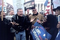 Courtesy - Christian Science Monitor - the 2000 campaigns go beyond election day