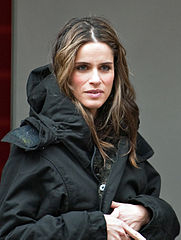 a photograph of American actor Amanda Peet