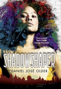 "Cover of ""Shadowshaper,"" available from DPL"