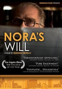 "Cover of the film ""Nora's Will,"" available from DPL"