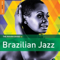 "Cover of the music cd ""Rough Guide to Brazilian Jazz"""