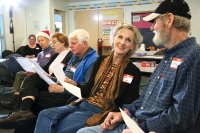 People love to sing at the Memory Cafe