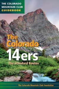Book cover of The Colorado Fourteeners