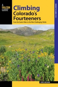 Climbing Colorado's Fourteeners book cover
