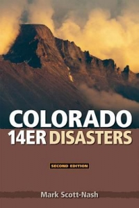 Colorado 14er Disasters book cover