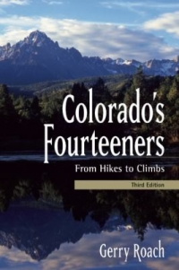 Colorado's Fourteeners book cover