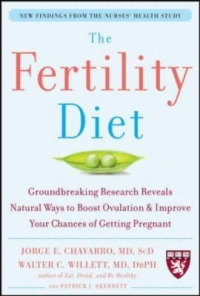 "Cover of ""The Fertility Diet,"" available from DPL"