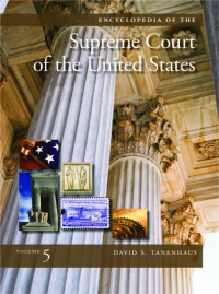 Encyclopedia of the Supreme Court of the United States cover image