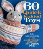 60 Quick Knitted Toys book cover