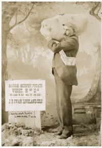 Photo of Loveland potato hoax, Denver Public Library digital collection