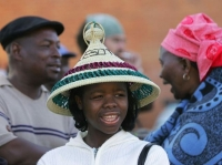 Young woman in Lesotho