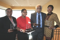 Winners of the Juanita Gray Community Service Awards and the Blacks in Colorado Hall of Fame inductee
