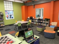 Children's area in the remodeled Hadley Branch