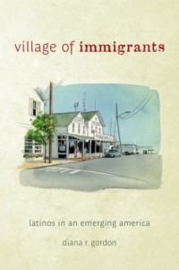 "Cover of the book ""Village of Immigrants,"" available from DPL."