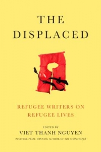 "Cover of the book ""The Displaced,"" available from DPL."