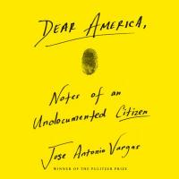 "Cover of the book ""Dear America,"" available at DPL."