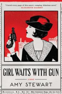 cover: girl waits with gun