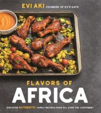 "Cover of the book ""Flavors of Africa,"" available from DPL."