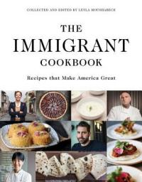 "Cover of the book, ""The Immigrant Cookbook,"" available from DPL."