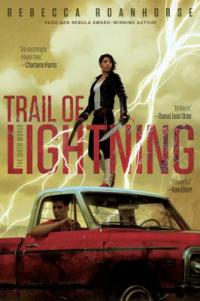 cover: trail of lightning