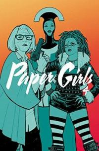 Book cover of Paper Girls 4