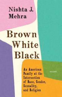 cover: brown white black