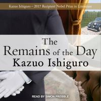 cover: the remains of the day