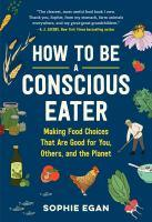 cover: how to be a conscious eater