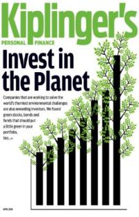 Kiplinger's Magazine cover with Invest in the Planet as the cover story