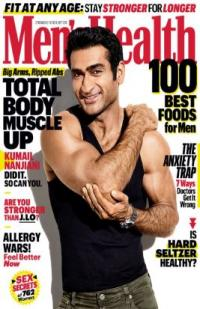 Cover of Men's Health Magazine with a muscular man in a tank top