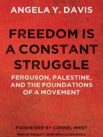 cover: freedom is a constant struggle