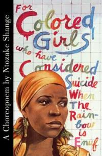 cover: for colored girls who have considered suicide...